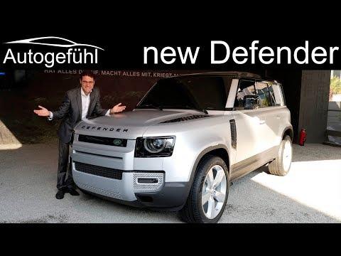 all-new Land Rover Defender REVIEW Exterior Interior 2020 - Autogefühl