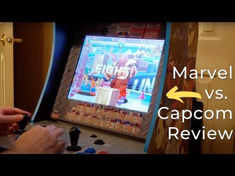 Arcade1Up Marvel vs. Capcom Arcade Machine Review from Best Buy Canada Product Videos