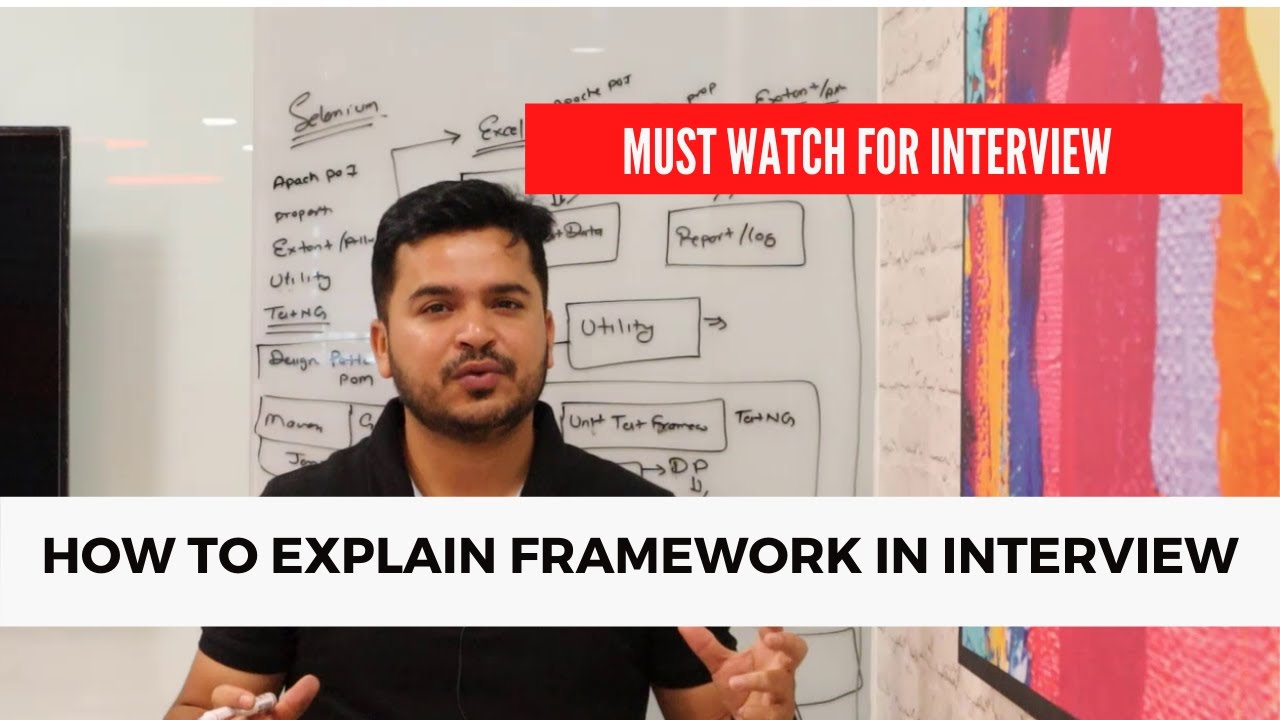 Download How To Explain Test Automation Framework In Interviews For Selenium