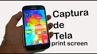 Como tirar print screen no Galaxy Gran Neo Plus (Captura de Tela)