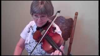 Tennessee Wagoner - Key of C (Judy on fiddle)
