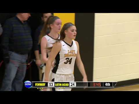 Game of the Week Play of the Game: Latin Academy's Mackenzie Theriault Basket and 1