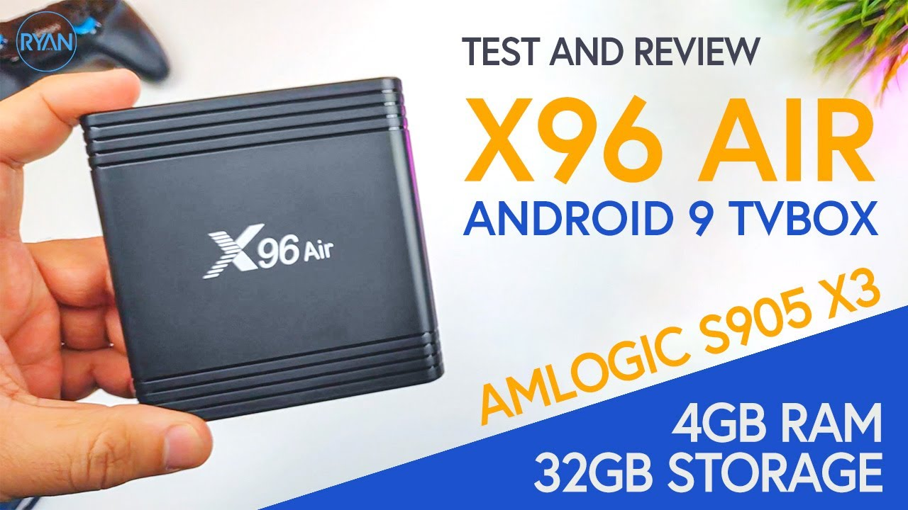 X96 Air Tv Box || AMLOGIC S905x3 || Full Review - How it performs?! (2020)  - YouTube