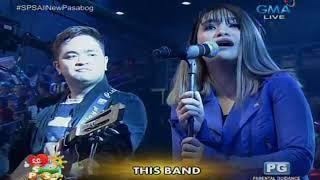 Kahit Ayaw Mo Na (Live) - This Band Sunday PinaSaya
