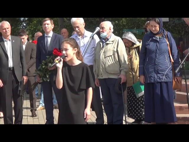В Жуковском  прошел митинг памяти о  трагедии в Беслане