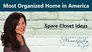 Spare Closet Ideas - The Most Organized Home In America #8