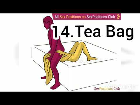 Tea bag sex position