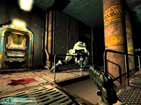 Doom 3 Alpha 2002 E3 Demo (Full Gameplay)