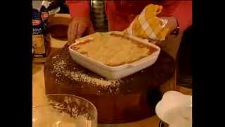 Rhubarb Crumble   Dessert Recipe