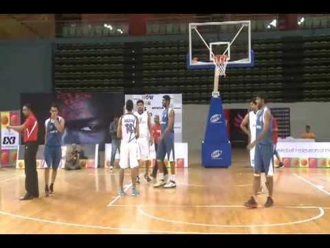 Men's Final Match: First 3x3 Basketball Tournament