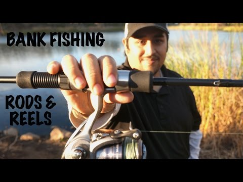 Bank Fishing Pt 1 - Rods & Reels