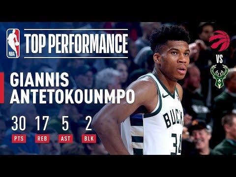 Giannis Joins Kareem in Bucks NBA Playoffs History! | May 17, 2019