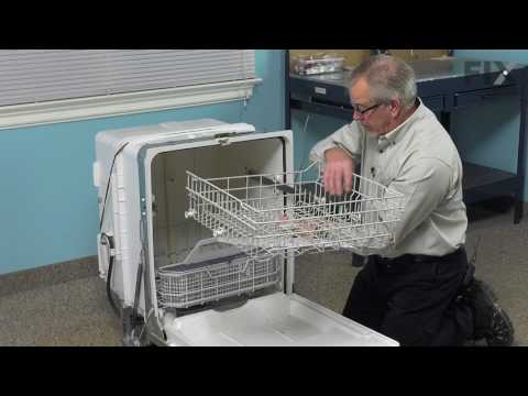 GE Dishwasher Repair - How to Replace the Middle Spray Arm