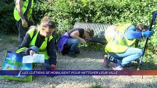 Yvelines | Les Clétiens se mobilisent pour nettoyer leur ville