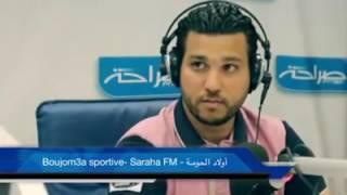 سعد بقير و بوجمعة في شخصية صحفي قطري