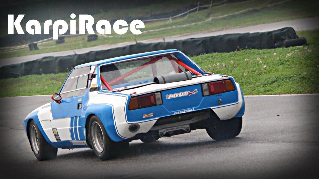 Fiat X1 9 Race Car Pure Sound Youtube