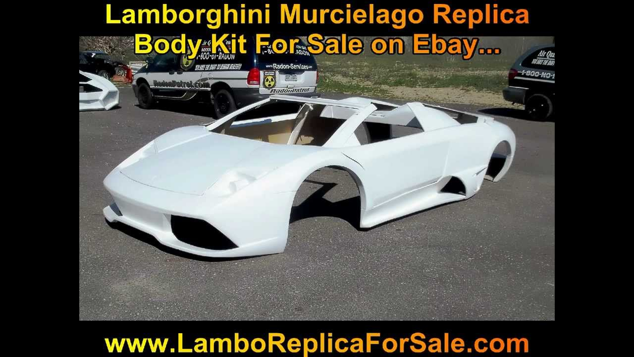 Lamborghini Murcielago Lp640 Fiberglass Body Kit For Sale Www Lamboreplicaforsale Com Youtube
