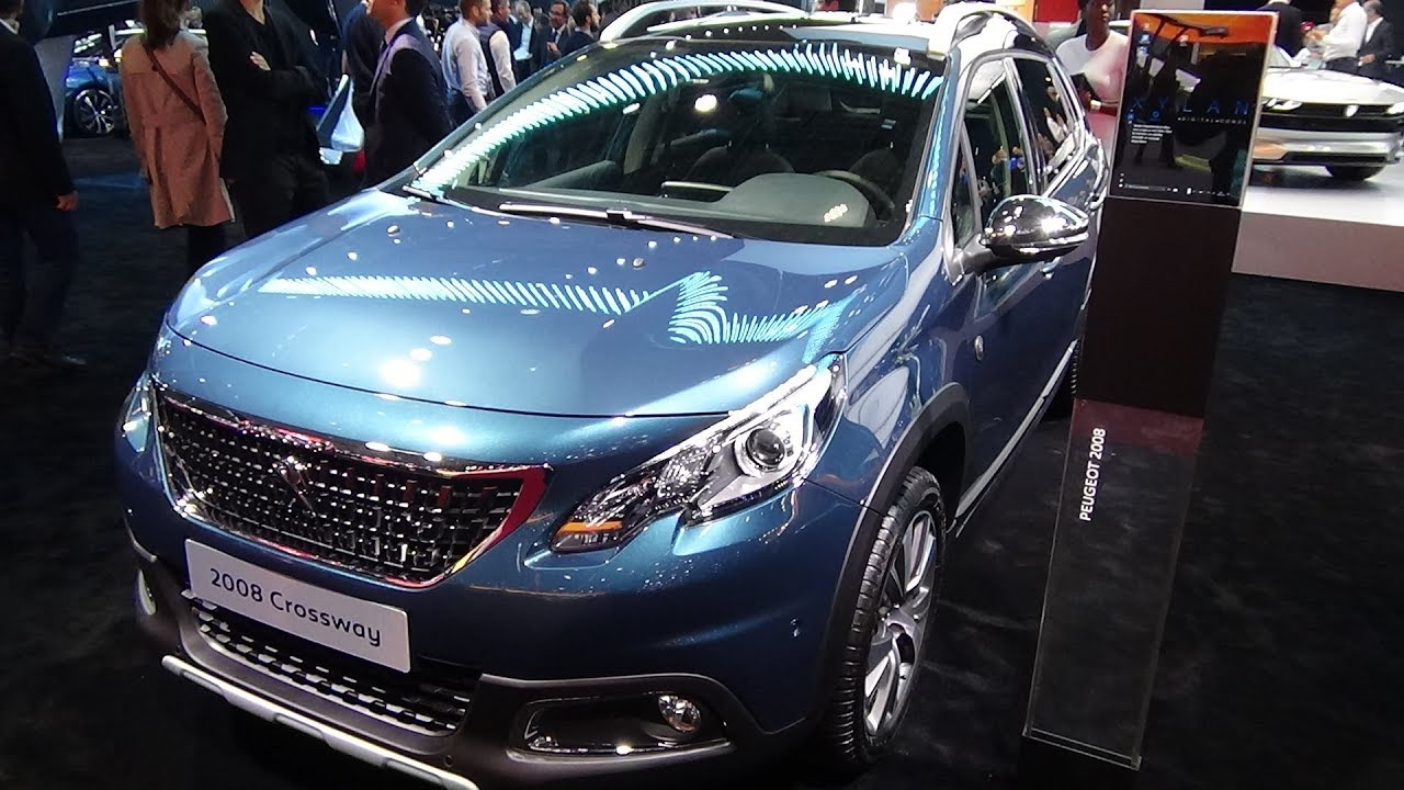 2019 Peugeot 2008 Crossway Exterior And Interior Paris Auto Show