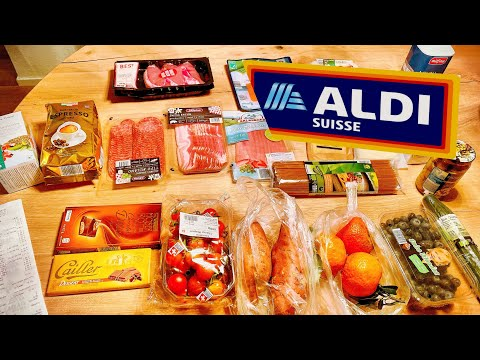Цены на Продукты в Швейцарии | Супермаркет Aldi Suisse | Цюрих Швейцария