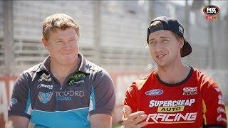 CHAZ MOSTERT AND ADAM DE BORRE CHAT TO RUSSELL INGALL