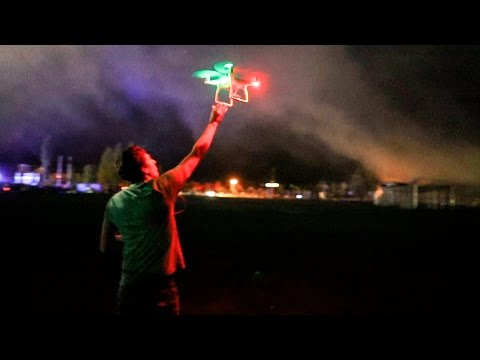 How to fly a drone through 10,000 Fireworks!