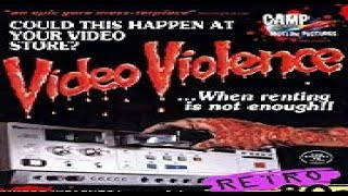 Video Violence (1987) amature homemade indie film - MOVIE REVIEW