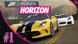 Forza Horizon Walkthrough Part 1 - Welcome to Horizon!