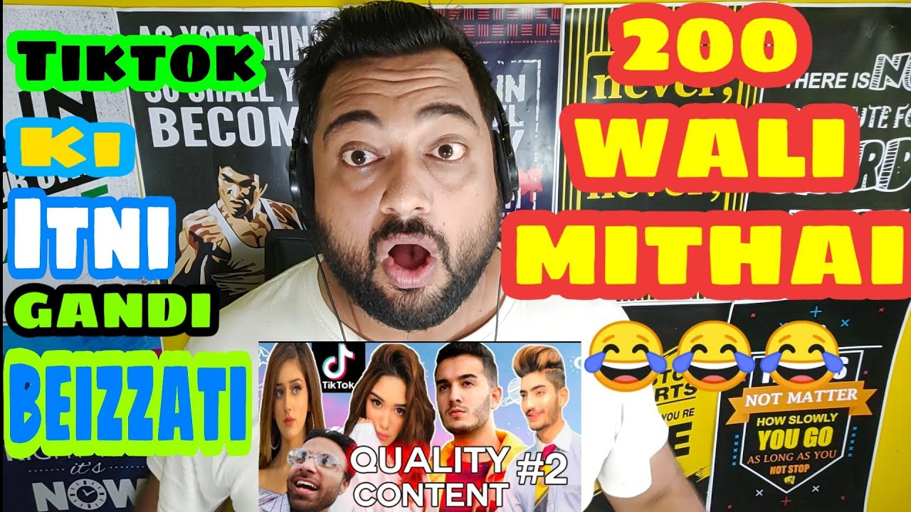 FINDING QUALITY CONTENT ON TIKTOK | Thugs of Pakistan | Indian Reaction by Mayank