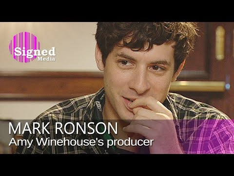 Mark Ronson on production work for Amy Winehouse, Robbie Williams & Lily Allen