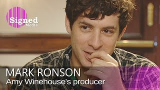 Mark Ronson on production work for Amy Winehouse, Robbie Williams & Lily Allen Video