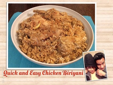 How To Cook Chicken Biryani | Quick & Easy Chicken Biryani | Shahi Chicken Biryani