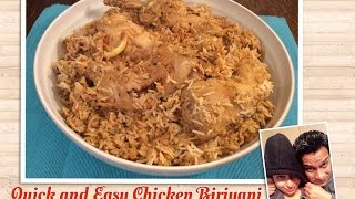 Quick & Easy Chicken Biriyani