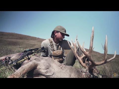 Nebraska SPOT & STALK Archery Mule Deer 65 Yard Shot