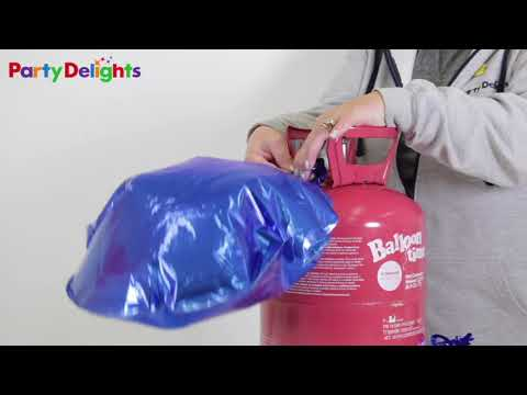 How To Use A Helium Canister With Foil Balloons