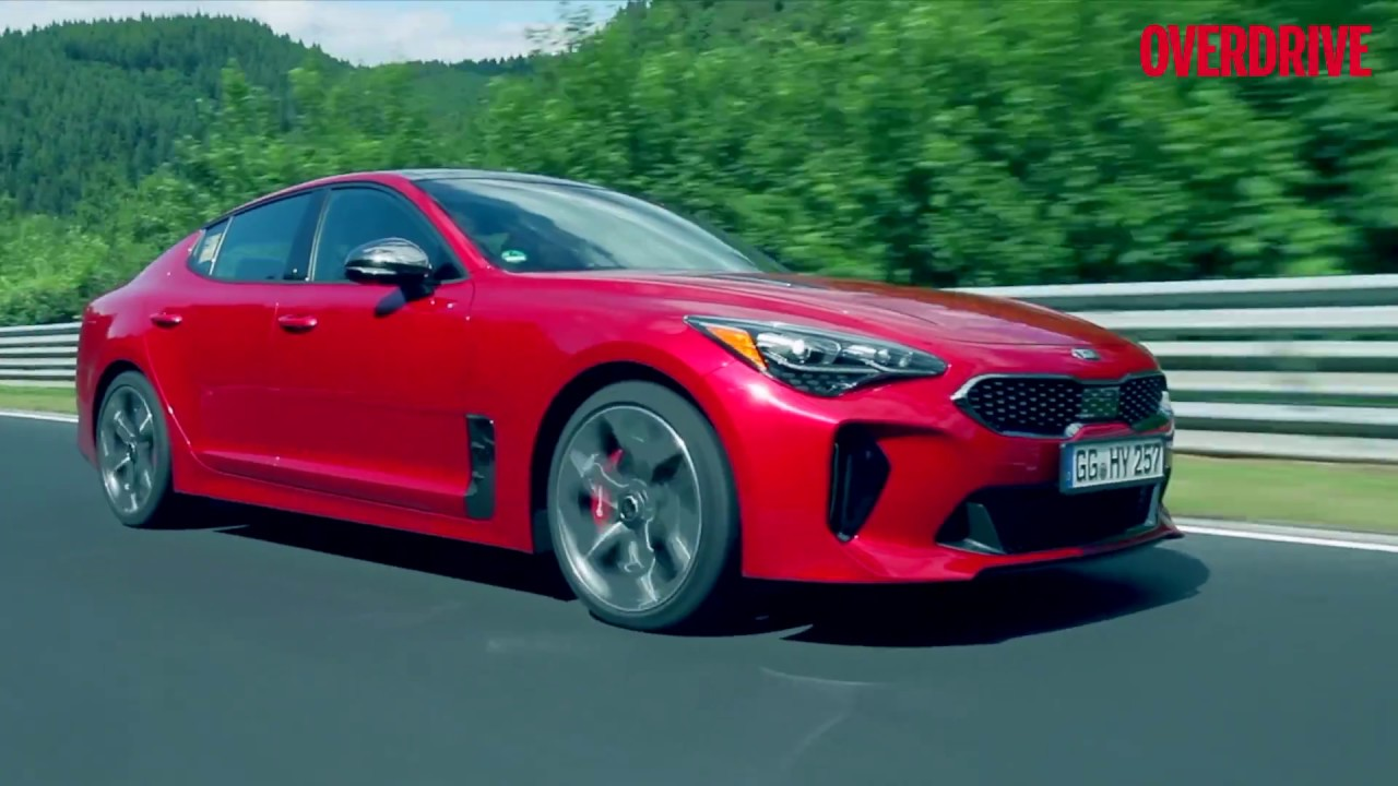 India Bound Kia Stinger Gt 3 3 First Drive Review Overdrive Youtube