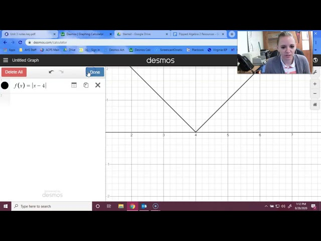 Algebra 2: Absolute Value Functions and Inequalities
