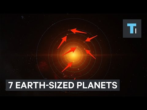 Newfound solar system with 7 Earth-sized planets is the perfect place to search for alien life