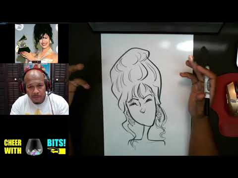 How To Draw a Caricature Selena