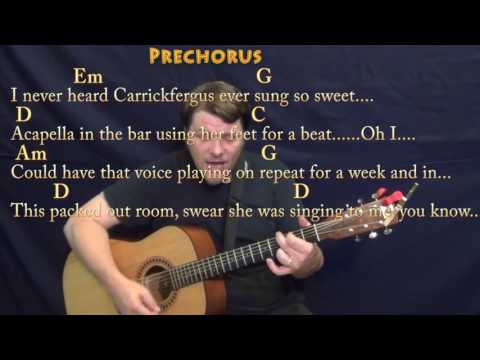 Galway Girl (Ed Sheeran) Strum Guitar Cover Lesson in G with Chords/Lyrics