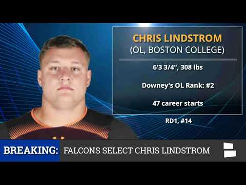2019 NFL Draft: Atlanta Falcons Pick OG Chris Lindstrom From BC With Pick #14 In 1st Round