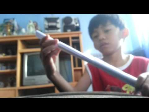 Chases corner: how to make a lightsaber paper