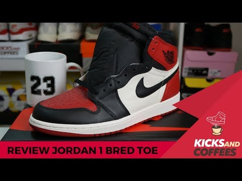 Unboxing e Review - Jordan 1