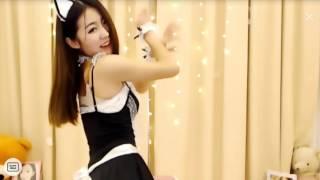 Asian dancing cat maid outfit  섹시한 댄스 Kpop 性感舞 美女 pretty models