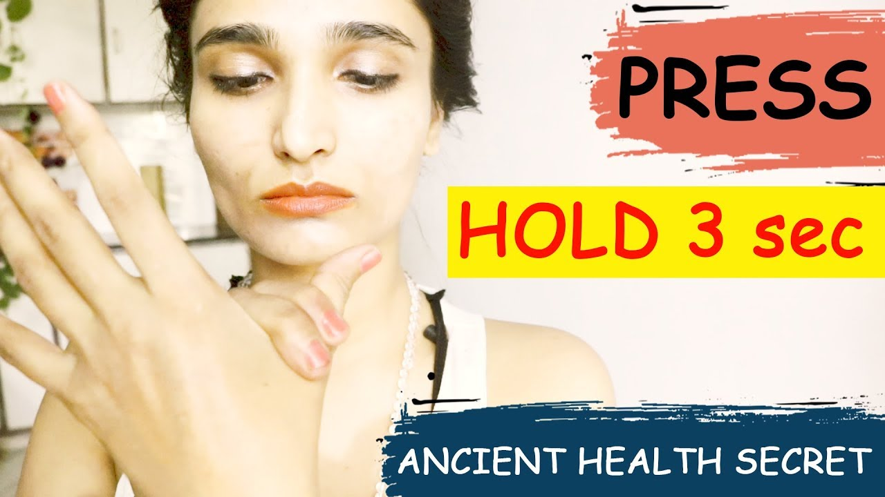 PRESS FINGERS & HOLD For 3 seconds | AMAZING HEALTH FITNESS TIPS | FINGER MASSAGE | Samaya Yoga