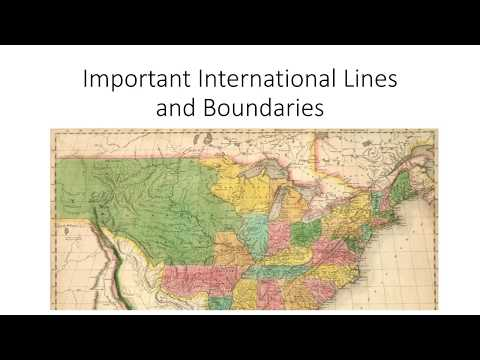 Important Lines and Boundaries ( Radcliffe Line, Maginot Line, Durand Line,Hindenburg Line etc.)