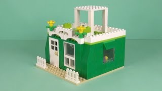 LEGO House (043) Building Instructions - LEGO Bricks How To Build - DIY