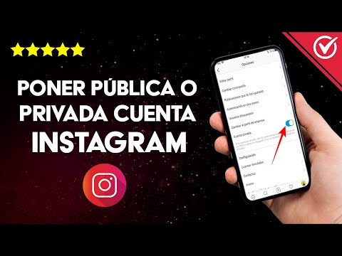 Cómo Poner Pública o Privada mi Cuenta de Instagram Personal o Empresa