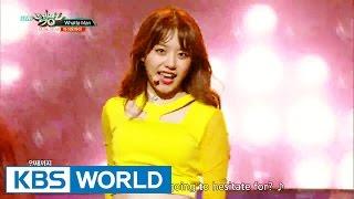 I.O.I (아이오아이) - Whatta Man [Music Bank / 2016.08.26]