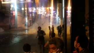 Taksim direniş - Polis kudurdu