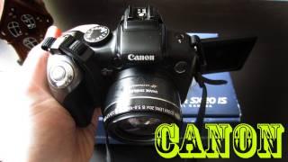 Моя камера Canon PowerShot SX20 IS
